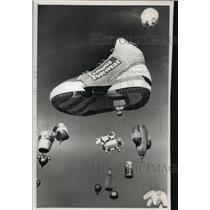 1992 Press Photo Hot air balloons at the Albuquerque balloon festival