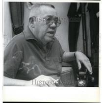 1992 Press Photo Gene Graye, the only survivor of a 1957 crash of a B-52