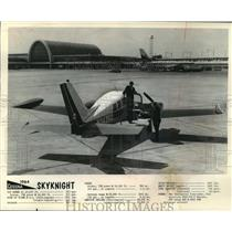 1963 Press Photo Skyknight Cessna executive airplane - mja04002