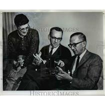 1965 Press Photo Three members of Portland club - orb76456