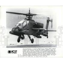 1990 Press Photo Apache Helicopter Killing Machines - spp00857