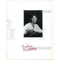 1987 Press Photo Airplane ax- Brockett/Christine Karstetter - spa23419