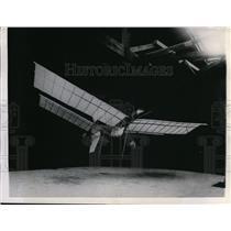 1946 Press Photo First Model Plane Samuel Pierpont Langley slid 50 years ago