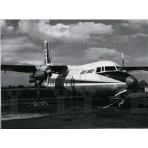 1958 Press Photo Airplane Cargo & Transport Fairchild Propjet Transport