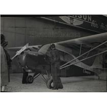 1945 Press Photo The first 1946 model of all-purpose, low priced Aeronca plane