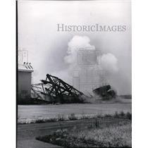 1965 Press Photo Geiger Field Old Tower Destruction - spa22199