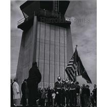1968 Press Photo Airport Felts Field - spa22203