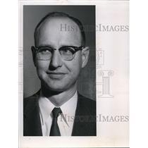 1960 Press Photo Paul S Sanderson Felts Field - spa22368