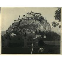1923 Press Photo The Hochosterwitz Castle in Austria - mja04679