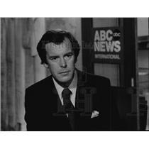 1981 Press Photo Peter Jennings ABC News World News Tonight - spp00621