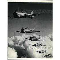 1946 Press Photo North American Texan War's Outstanding Advanced Trainer