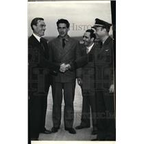 1936 Press Photo Soviet Fliers Levanovsky, Levchenko, Sokoloff & Updegraff