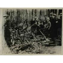 1930 Press Photo Pilot Maryan Freiter died when his plane crashed - nee91997