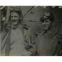 1919 Press Photo Lieutenant H.J. Meyers and MSC H.D. Norris - WWI pilots
