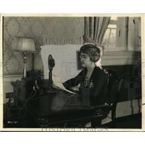 1926 Press Photo Jessie B Lane of WLY Radio