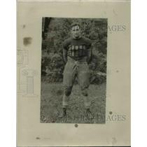 1927 Press Photo Football player, Jim Dillon - cvb67564