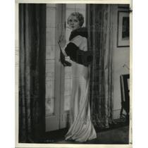 1934 Press Photo Mary Pickford