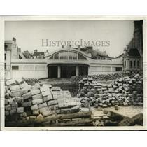 1928 Press Photo Chateau Thierry 10 years after France invaded by U.S. & Germany