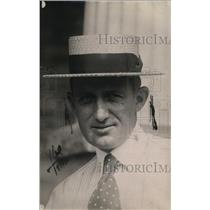 1919 Press Photo Ray Archer Willard's Business Manager
