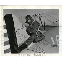 1942 Press Photo RAF Cadet Derek M Sharp of Yorkshire England