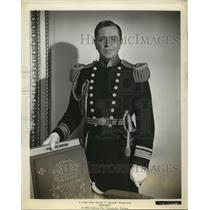 Press Photo Dr. Gary Grayson ( Stanley Ridges), Naval Aide to President.