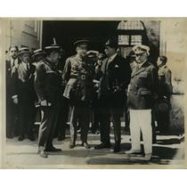 1929 Press Photo Gen. Primo De Rivers confers with members of the Directorate