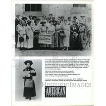 Press Photo The American Experience: One Woman, One VOte - cvb74251