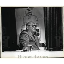 1973 Press Photo Chicago Bears legendary coach George Halas