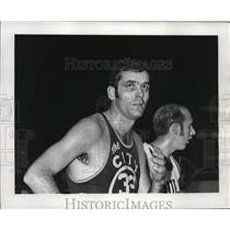 1970 Press Photo San Francisco Warrior forward Jerry Lucas