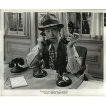 1938 Press Photo Fred Allen  - mjx00826