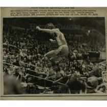 1972 Press Photo Pete Maracich of Hawks in action vs NY Knicks in NYC