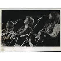 1983 Press Photo Rock group America played a concert in the Auditorium