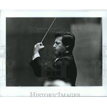 1990 Press Photo Vladimir Spivakov, Violinist and Conductor