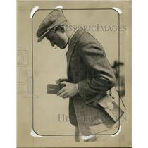 1929 Press Photo Captain Einar Paul Lindburg - ney10216