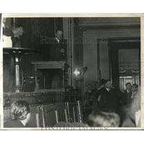 1930 Press Photo New York Communist Czar William Foster, Central Opera House NYC