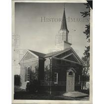 1931 Press Photo Lincoln Marriage Temple dedicated at Harrosburg, Kentucky