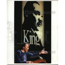 1994 Press Photo Bernice A King, daughter of the Late Martin Lither King Jr