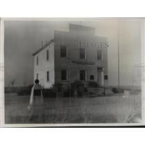 1836 Press Photo First capitol at Belmont, Wisconsin, in 1836 - mja06133