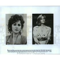 1990 Press Photo Bonnie Bedelia and Greta Scacchi in Presumed Innocent