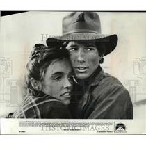 "1979 Press Photo Brooke Adams and Richard Gere in ""Days of Heaven"" - mjp00655"