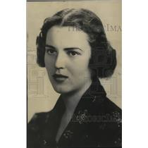 1934 Press Photo Emilie Moeller, a student at the University of Wisconsin