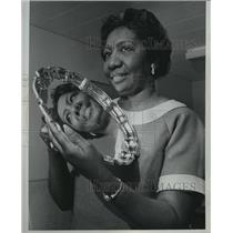 1969 Press Photo Mrs Thelbert Alexander, director of the Child Care Center, Inc