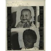 1930 Press Photo Babies of different ethnicity  - mja11224