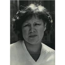 1978 Press Photo Gloria Visintin of the Inter-Tribal Cultural Committee, Ltd