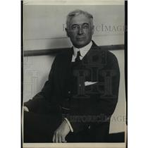 1922 Press Photo Mr. Bernard Baruch, well known banker - mja16175