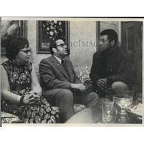 1972 Press Photo Atty. Gen. Robert W. Warren and his wife - mja15816