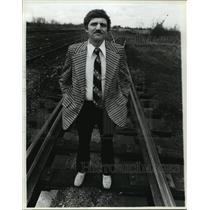 1982 Press Photo Ashland Mayor Ed Wagner - mja13462