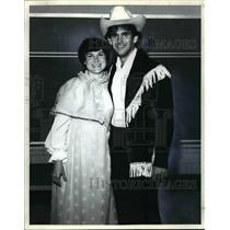 1982 Press Photo Michelle Manion and Dorry Smith - cvb69925
