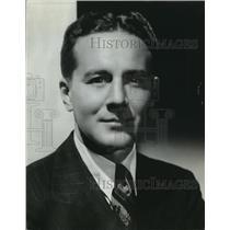 1941 Press Photo Leonard K FIrestone, president of the Firestone Aviation Corp.