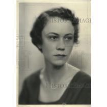 1934 Press Photo Mrs Louis Caron Jr  - mja17881